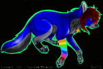 Emo Wolfy~ by Reptile-Monster