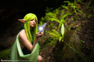 Farore and The Fairy by EvilSp0rk
