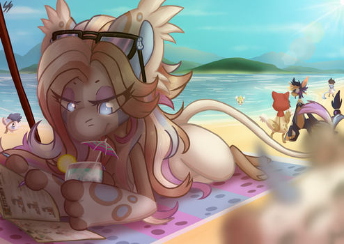 DTA | Relaxing at the beach by SkylightCyclone