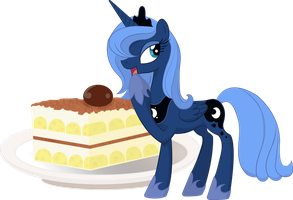 Food Series: Luna - Tiramisu by StargazeSchrecken1