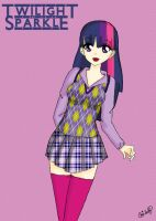 Twilight Sparkle by Chibilory