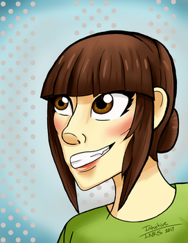 Picture of Me for My Profile by IntuitiveInks