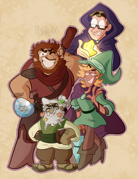 Can you defeat my 3 powerful sons? by Mikky-Be