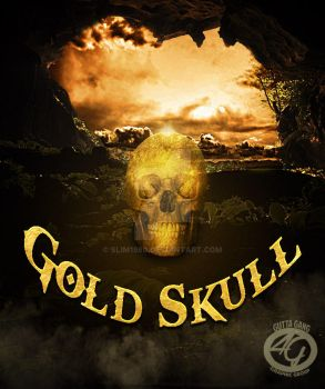 Gold Skull- by slim1980