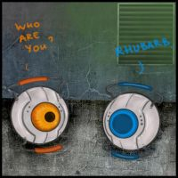 Portal - who are you by herman-the-handyman