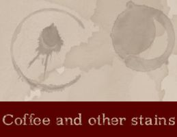 Coffee and other stains - Gimp by DoubleLayer