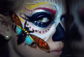 Colourful death by PixieCold