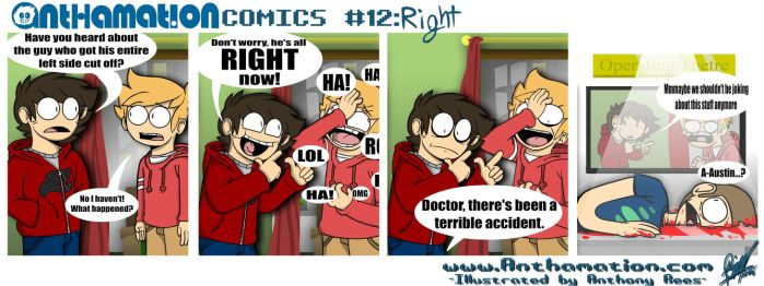 AnthaComic #12: Right by Anthamation