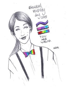 Bisexual Visibility Day 2015 by whiteecho