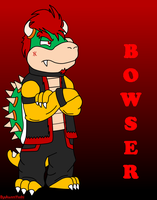 Teenage Bowser by Jei-ice