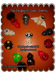 The Binding of Isaac Charms by SpinaOscura