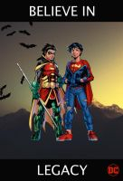 Legacy (Super Sons, Robin and Superboy) by tomtom2012