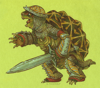 Battle Tortoise! by Rowkey
