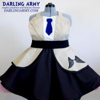 Castiel Supernatural Cosplay Pinafore Dress Access by DarlingArmy