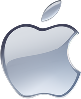 (late gift)Silver Apple logo vector(1) by Windows7StarterFan