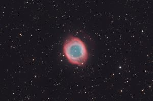 The Eye of God: The Helix Nebula by turbulentvortex