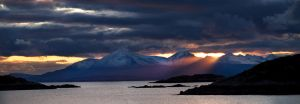 Sunset over Skye by Graid
