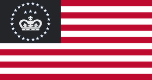 US Monarchy flag by 33k7