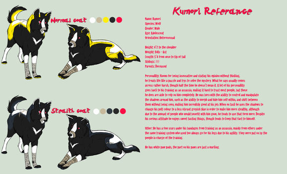 Kumori Reference by CatLuvsCookies