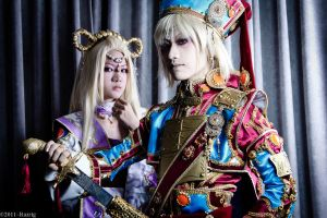 Trinity Blood: Mirka and Ion by SilentCircus90