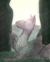 Day 3 - The Last Guardian by linzeda
