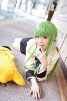 C.C cosplay by Soso by I-Love-Claymore
