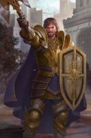 Knight lvup by ZhangQipeng