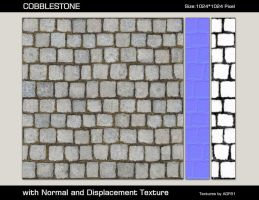 Seamless Cobblestone by AGF81