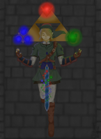 .::The Spirit of Link::. by IXI-ChibiCharms-IXI
