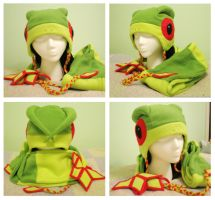 Pokemon - Flygon Hat and Scarf