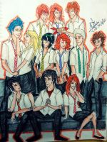 Harry Potter second generation by seanfarislover