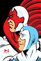 Hawk and Dove by IanJMiller
