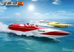 TDU3 PowerBoats Racing by MhmdNatour