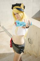 Hands up! - Panty cosplay by XiXiXion