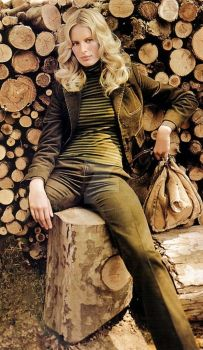 Wood Shed Woman by rrspence2002
