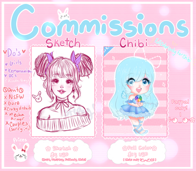 REPOST ~~~COMMISSIONS OPEN~~~~~ by Desuthis