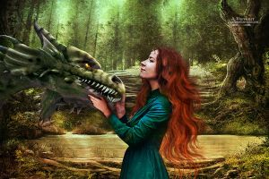 Me and my dragon by annemaria48