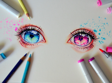 Broken Eyes by Lighane