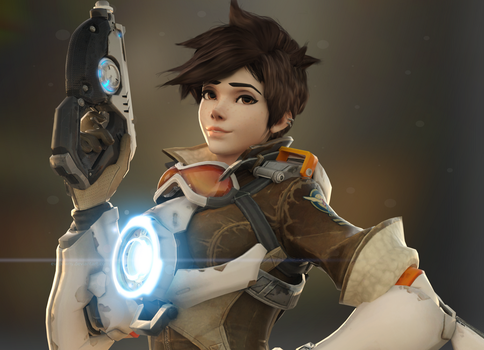 Tracer - The World Needs More Heroes by EvilPowny