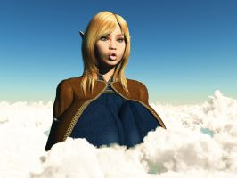 Vue giantess 42: Oops...  Wrong spell? by nyom87