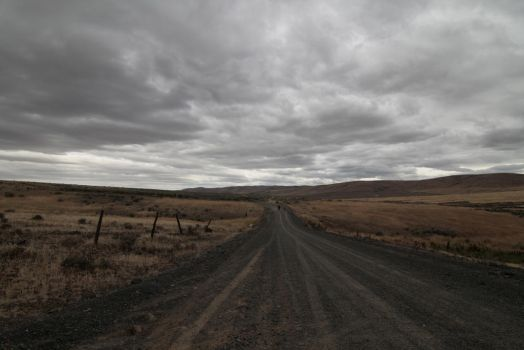 Creepy Country Road by FoxStox