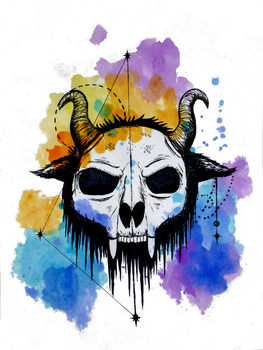 Skull Mask by Loroqueen