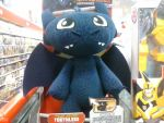 Toothless Plush With Sound by PoKeMoNosterfanZG