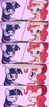 Pinkie Knows Everything by Bukoya-Star