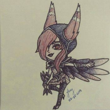Xayah the Rebel by amyrose7