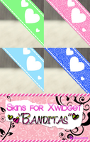 ~Skins for Xwidget ''Banditas'' By:Lucesita by LucesitaEditions