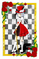 The Red Hatter by LadyPenrose