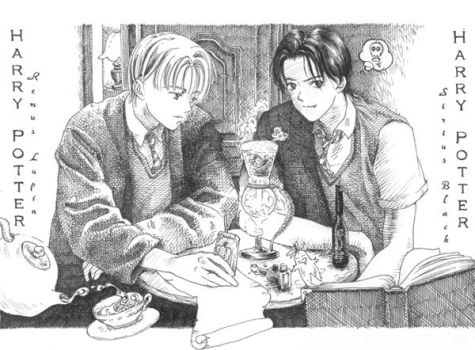 My first hp fanart by lillithium