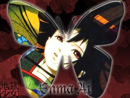 Enma Ai Butterfly by narutard94