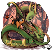 Serperior And Tepig